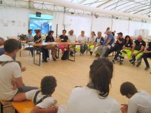 riunione psicologi campo base Psicologi per i Popoli Trentino