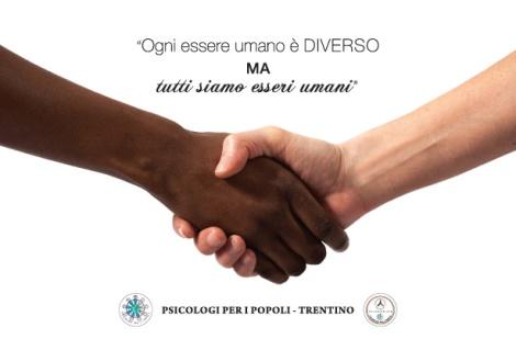 Cartolina Psicologi per i Popoli Trentino