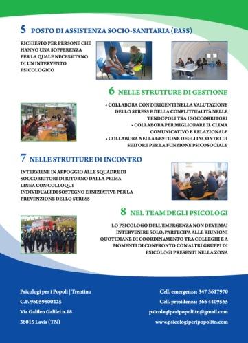 Flyer Psicologi per i Popoli Trentino
